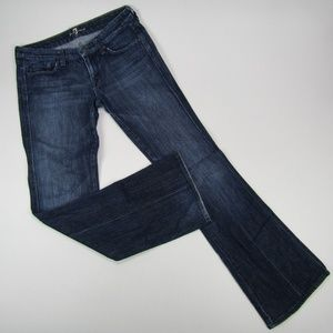 7 For All Mankind Bootcut Medium Wash Womens